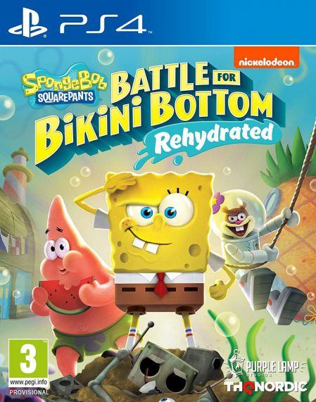 Echanger le jeu Bob l'Eponge : Bataille pour Bikini Bottom - Rehydrate sur PS4