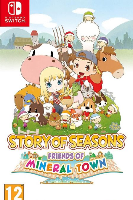 Echanger le jeu Story of Seasons - Friends of Mineral Town sur Switch