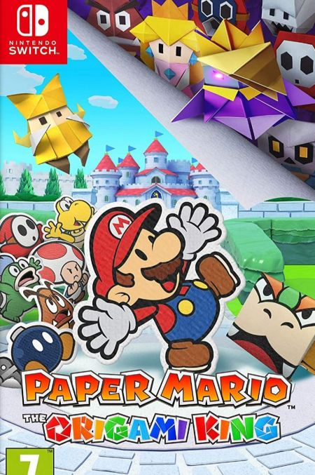 Echanger le jeu Paper Mario : The Origami King sur Switch