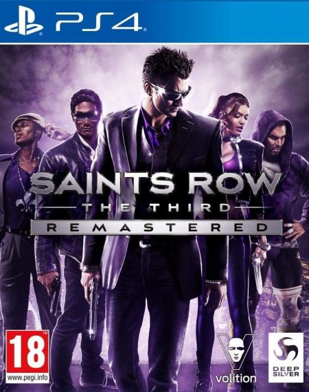 Echanger le jeu Saints Row - The Third Remastered sur PS4