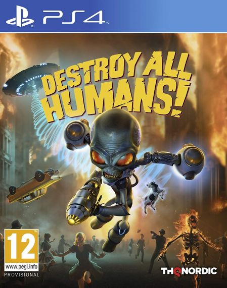 Echanger le jeu Destroy All Humans! sur PS4