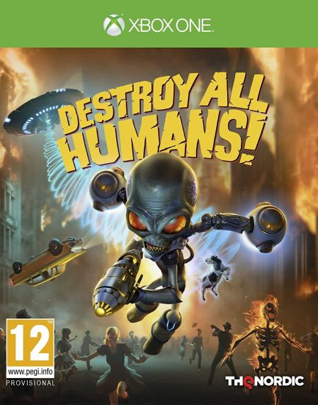 Echanger le jeu Destroy All Humans! sur Xbox One