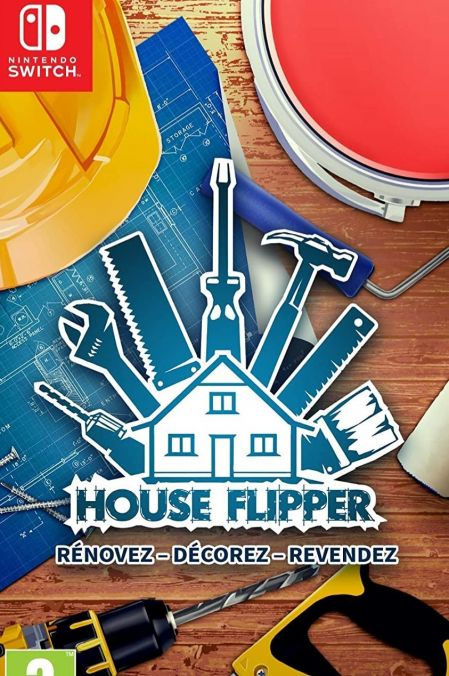 Echanger le jeu House Flipper sur Switch