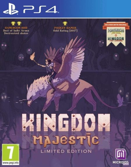 Echanger le jeu Kingdom Majestic - Limited Edition sur PS4
