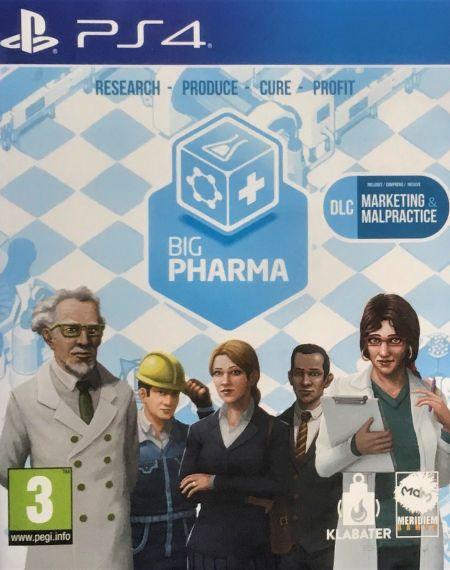 Echanger le jeu Big Pharma sur PS4