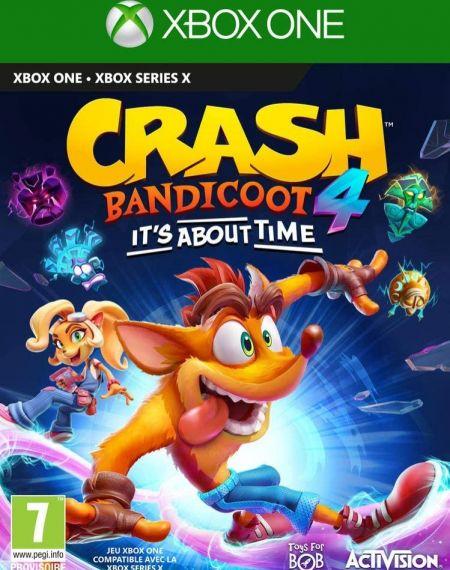 Echanger le jeu Crash Bandicoot 4 : It's About Time sur Xbox One
