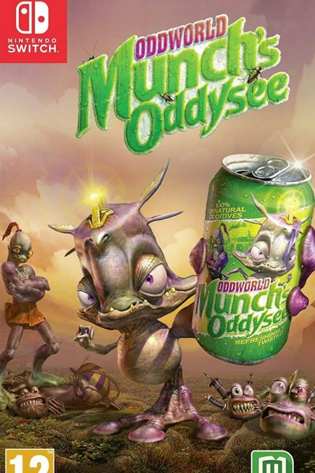 Echanger le jeu Oddworld Munch's Oddyssee sur Switch