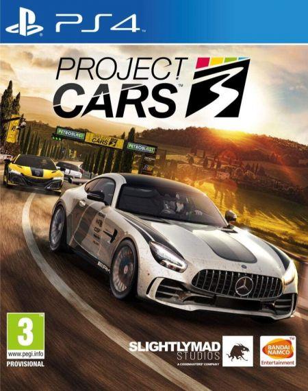 Echanger le jeu Project Cars 3 sur PS4