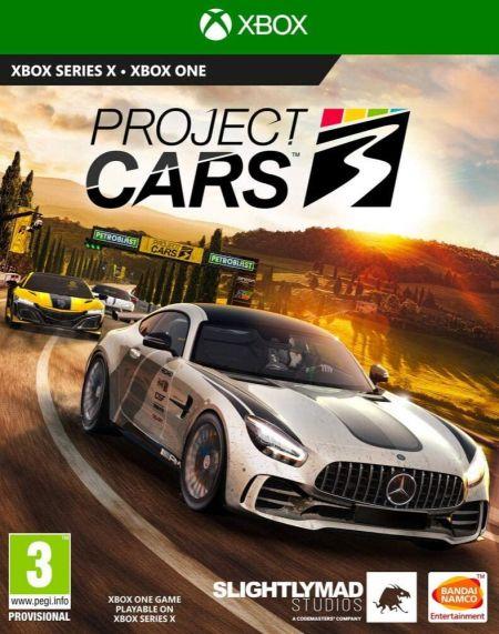 Echanger le jeu Project Cars 3 sur Xbox One