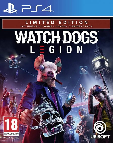 Echanger le jeu Watch Dogs Legion sur PS4