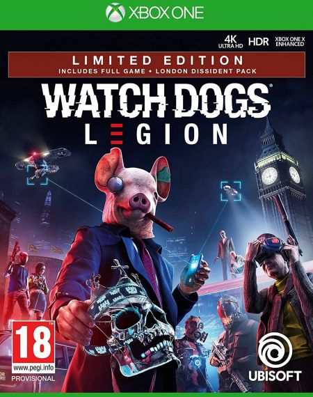 Echanger le jeu Watch Dogs Legion sur Xbox One
