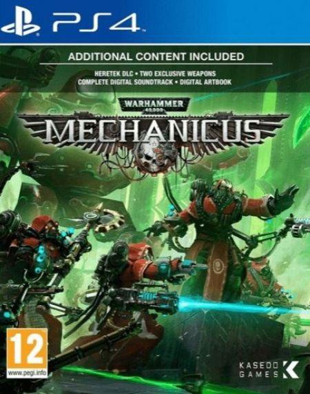 Echanger le jeu Warhammer 40K Mechanicus sur PS4