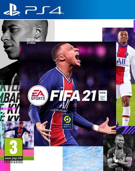 Echanger le jeu FIFA 21 sur PS4