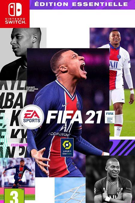 Echanger le jeu FIFA 21 sur Switch
