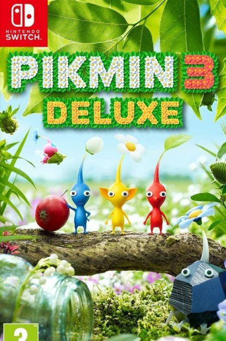 Echanger le jeu Pikmin 3 Deluxe sur Switch