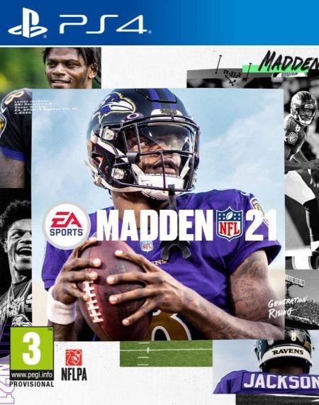 Echanger le jeu Madden 21 sur PS4