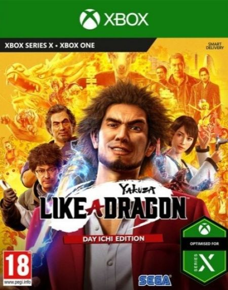 Echanger le jeu Yakuza - Like A Dragon sur Xbox One
