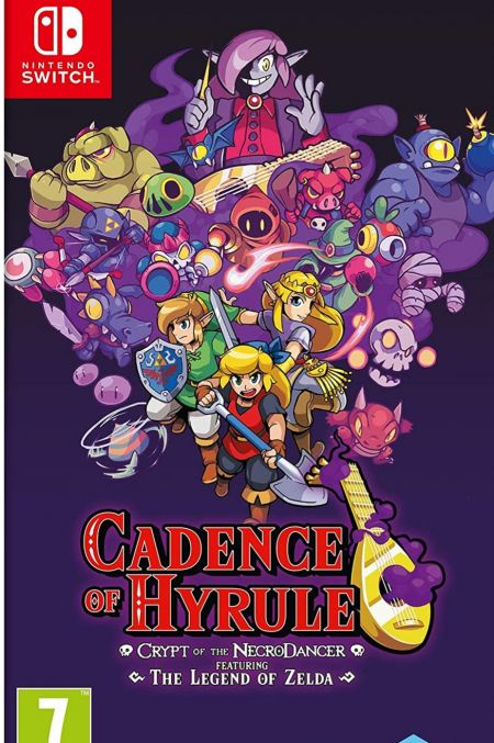 Echanger le jeu Cadence of Hyrule sur Switch