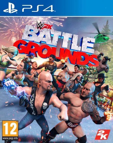 Echanger le jeu WWE Battlegrounds sur PS4