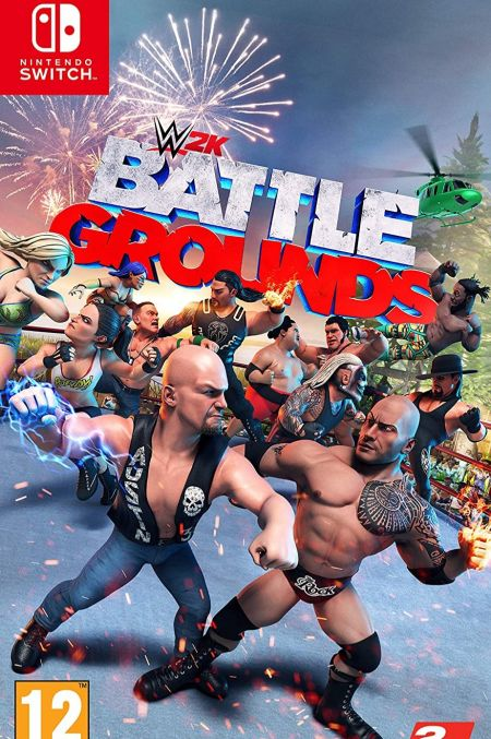 Echanger le jeu WWE Battlegrounds sur Switch