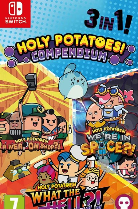 Echanger le jeu Holy Potatoes! Compendium sur Switch