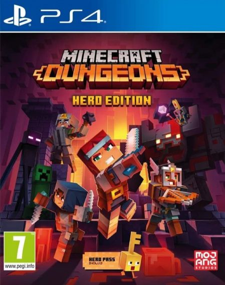 Echanger le jeu Minecraft Dungeons Hero Edition sur PS4