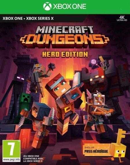 Echanger le jeu Minecraft Dungeons Hero Edition sur Xbox One