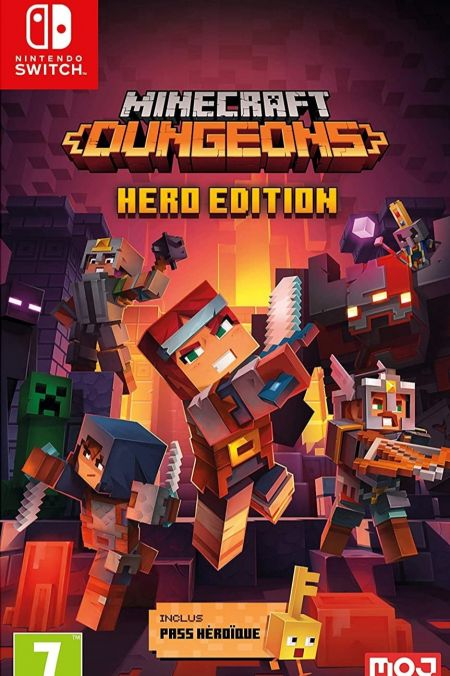 Echanger le jeu Minecraft Dungeons Hero Edition sur Switch