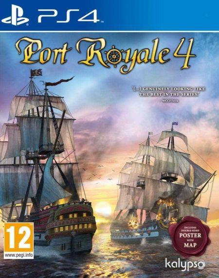 Echanger le jeu Port Royale 4 sur PS4