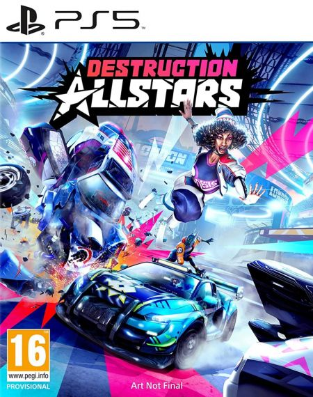 Echanger le jeu Destruction AllStars sur PS5