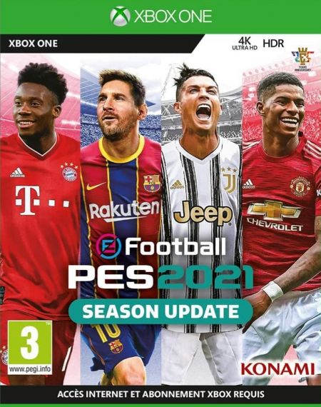 Echanger le jeu E Football - PES 2021 sur Xbox One