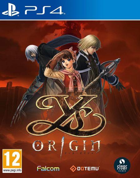 Echanger le jeu YS Origin sur PS4