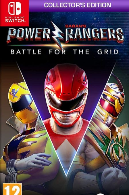 Echanger le jeu Power Rangers Battle for the Grid sur Switch