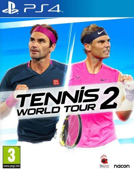 Echanger le jeu Tennis World Tour 2 sur PS4