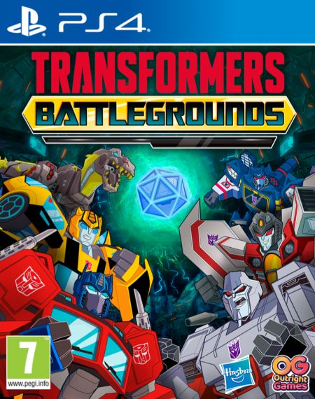 Echanger le jeu Transformers Battlegrounds sur PS4