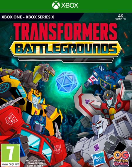 Echanger le jeu Transformers Battlegrounds sur Xbox One