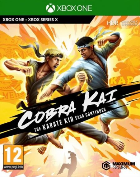 Echanger le jeu Cobra Kai : The Karate Kid Continues sur Xbox One