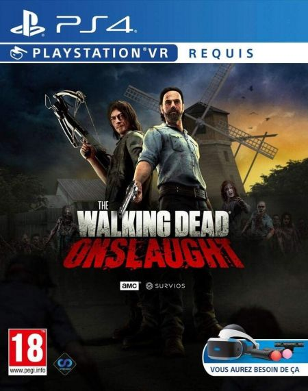 Echanger le jeu The Walking Dead Onslaught (PS-VR Requis) sur PS4
