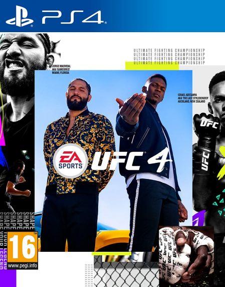 Echanger le jeu UFC 4 sur PS4