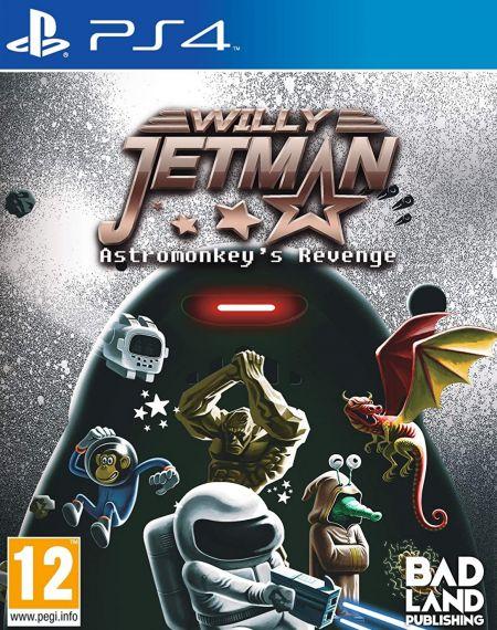 Echanger le jeu Willy Jetman - Astromonkey's Revenge sur PS4