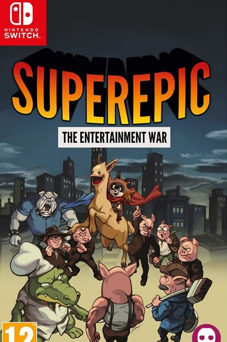 Echanger le jeu Superepic - The Entertainment War sur Switch