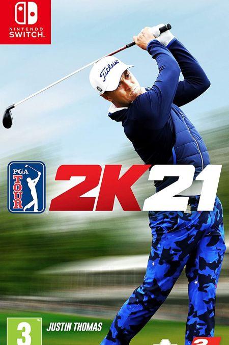 Echanger le jeu PGA Tour 2K21 sur Switch
