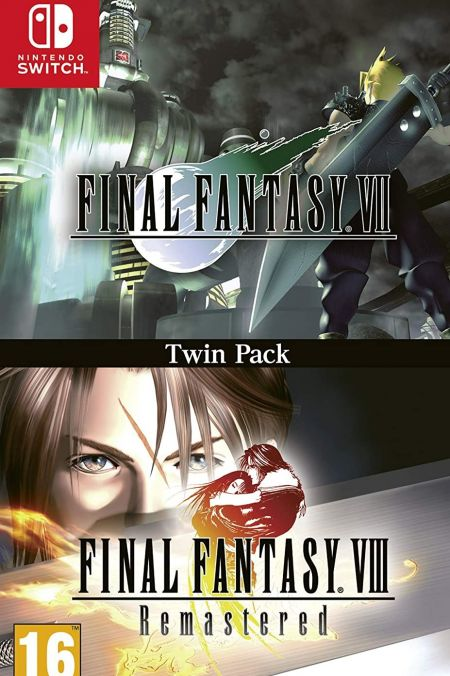 Echanger le jeu Final Fantasy VII & VIII - Twin Pack sur Switch