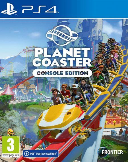 Echanger le jeu Planet Coaster sur PS4
