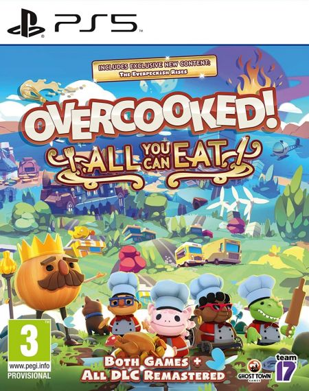 Echanger le jeu Overcooked All You Can Eat sur PS5