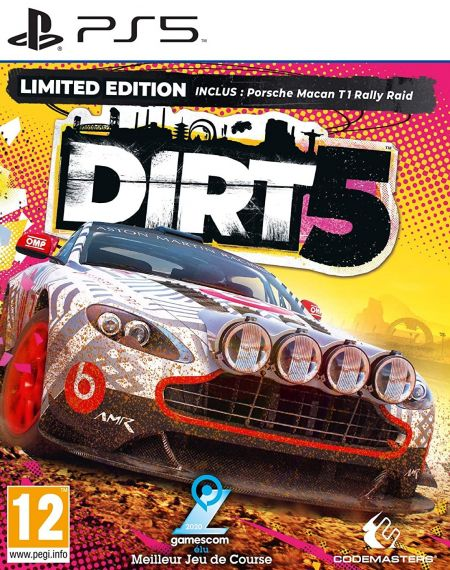 Echanger le jeu Dirt 5 sur PS5