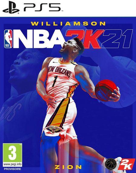 Echanger le jeu NBA 2K21 sur PS5
