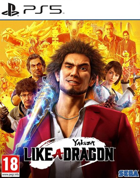Echanger le jeu Yakuza - Like A Dragon sur PS5