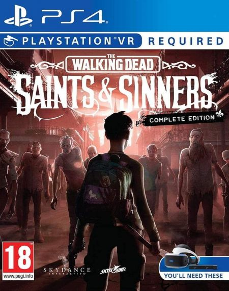 Echanger le jeu The Walking Dead Saints & Sinners - Complete Edition (PS-VR Requis) sur PS4