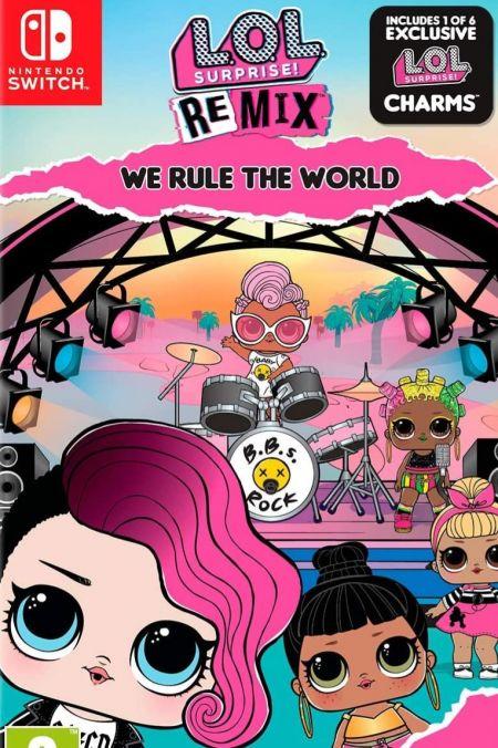 Echanger le jeu L.O.L. Surprise! Remix Edition: We Rule the World sur Switch
